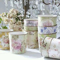 Cute containers nice for gifts
