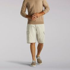 Lee Men's Extreme Motion Rover Cargo Shorts (Size 36)
