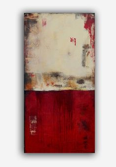 Original Painting 24x48 landscape Abstract por erinashleyart