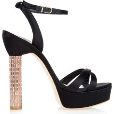 Sophia Webster Belle Crystal Platform Sandals as seen on Ellie Goulding