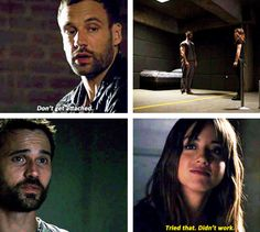 Agents of S.H.I.E.L.D. - Skye, Ward and Lance Hunter #2.1 #2.2