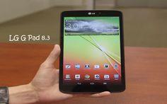 LG G Pad 8.3 Price in India | 5 MP Camera Snapdragon 600 2GB RAM