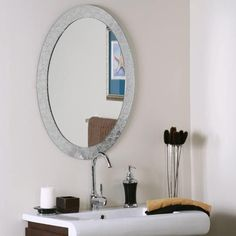 Creative Bathroom Mirror Ideas For a Small Bathroom | #bathroom+mirror ideas #home+design