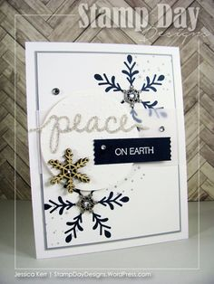 Stamp Day Designs, Peace on Earth (1)