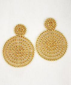 Lisi Lerch - Disk - Gold, $85.00 (http://www.lisilerch.com/earrings/disk-earrings/disk-gold/)