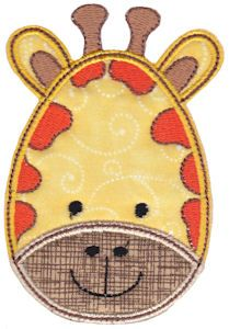Embroidery | Free Machine Embroidery Designs | Bunnycup Embroidery | Cute Animal Faces Applique Machine Embroidery Applique, Free Machine Embroidery Designs, Applique Patterns, Applique Designs, Embroidery Digitizing, Paper Patterns, Creeper Minecraft, Patchwork Quilting, Sewing Appliques