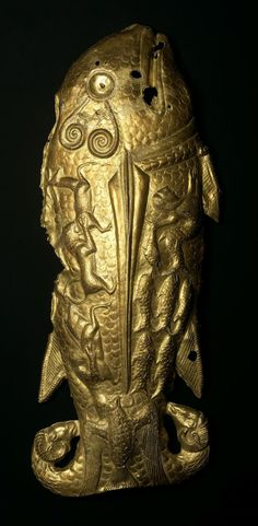 The Westernmost Scythian Artifact: The Gold Fish of Vettersfelde, Late 6th Century BCThis gold Scythian fish is the westernmost discovery of an artifact that can be attributed to the ancient...