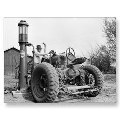 As a kid in the 40's this is the way we put gas in the old 1938 F-14 Farmall. It had a 500 gallon tank with the old visible hand pump on top. Ray 7/31/13