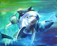 ACRYLIC, ACRYL Painting, Animals, Watercolor, Animales, Animaux, Painting Art, Paintings, Animal, Animais