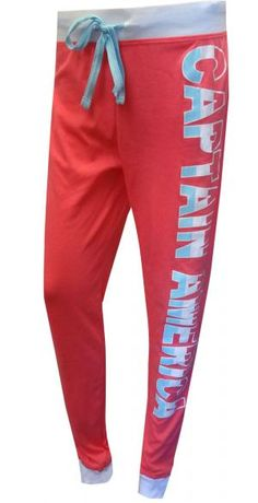 ALY???  Marvel Comics Ladies Captain America Lounge Pants                                                                                                                                                                                 More