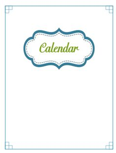 SECTION DIVIDERS SECTION DIVIDERS 31 Days of Home Management Binder Printables: Day