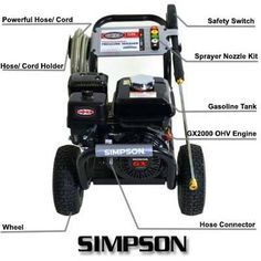 You need all the information to judge SIMPSON 3300 PSI GPM Gas Pressure Washer to be the best product of the company. Best Pressure Washer, Pressure Washers, Countertop Water Filter, Upright Exercise Bike, Safety Switch, Flat Tire, Waterproof Watch, Pool Cleaning, In Ground Pools
