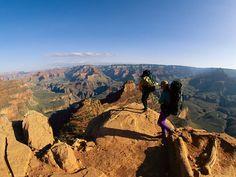 Grand Canyon Hike, Arizona  Rim to Rim to Rim    Round-Trip: 44 miles, 4 to 6 days    When to Go: Everybody does this hike in September to October or April to May, so go in March or November for a more contemplative experience.