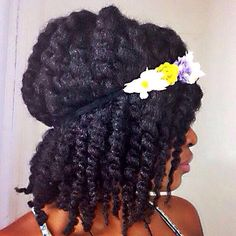 Summer Twist shared by Virginia - http://www.blackhairinformation.com/community/hairstyle-gallery/natural-hairstyles/summer-twist-shared-virginia/ #summerhairstyle #naturalhair #twists