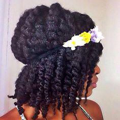 Summer Twist shared by Virginia - http://www.blackhairinformation.com/community/hairstyle-gallery/natural-hairstyles/summer-twist-shared-virginia/ #summerhairstyle #naturalhair #twists