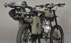 The Black Ops Edition Motoped Is A Survival Moped For The Zombie Apocalypse Camping Survival, Survival Prepping, Survival Skills, Camping Gear, Doomsday Prepping, Emergency Preparedness, Bug Out Vehicle, Zombie Apocalypse Survival, Apocalypse Art