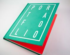 Portafolio impreso by Alejandra Botero, via Behance