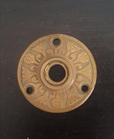 Tulip Doorknob Rosette 530915 by CharlestonHardwareCo on Etsy