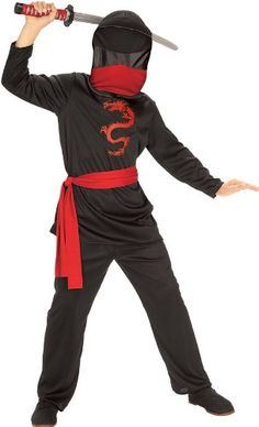 Masked Ninja Child Costume ** You can find more details by visiting the image link.