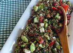 French Green Lentil Salad – A Summertime Favorite