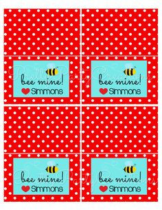 Items similar to BEE MINE bag toppers - You print - 4 or 6 inch on Etsy Bag Toppers, Bee, Valentines, Party Ideas, Etsy Shop, Valentine's Day Diy, Honey Bees, Valantine Day, Fete Ideas