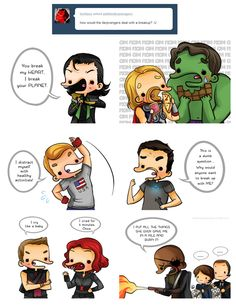If you can't trust the Avengers & friends for basic life advice, who can you trust??