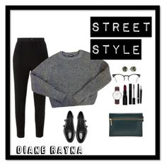 """""""Street Style #264"""" by dianerayna ❤ liked on Polyvore featuring Étoile Isabel Marant, Spitfire, American Apparel, Daniel Wellington, Smashbox, Gucci, Chanel, Victoria Beckham, The Kooples and Michael Kors"""