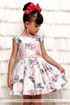 Vestido Infantil Miss Cake Doce Princesa 510132