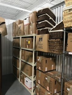 Planning ahead and Setting up a storage unit before the move for the things you will be storing long term is always a good idea. Supply Room, Organizing, Organization, Mudroom, Storage Spaces, Design Projects, Laundry Room, Locker Storage, The Unit