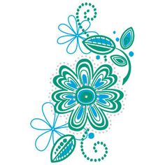Ecco embroidery designs Draw file for Paint and Crystal Works 21012-31 and Cutwork files