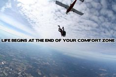 Reasons Why Skydiving will Change Your Life - Theunsaidtales Skydiving Quotes, Live Life, My Life, Leap Of Faith, Paragliding, Life Motivation, Extreme Sports, Travel Quotes, Rock Climbing
