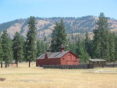 Fort Spokane, Washington:     Established by the US Army in 1880, by the 1890's Fort Spokane was  already obsolete. It was later used as an Indian Boarding School and  Hospital.