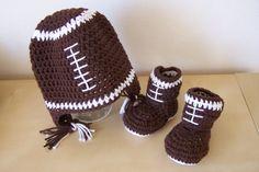 baby boy clothes baby boy football hat and by stitchesbystephann, $38.00