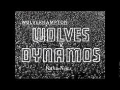 British Pathé News footage of the floodlit friendly between Wolves and Dynamo Moscow, played at Molineux on November 1955 in front of Wolves comm.