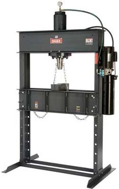 DAKE 50 Ton HYDRAULIC DURA-PRESS #machine #metal #tool