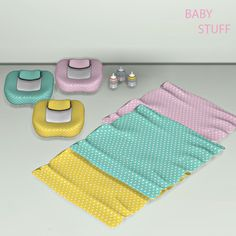 Baby Lounge, Bottle and Blanket for The Sims 4 The Sims 4 Pc, My Sims, Sims Cc, Sims 4 Cc Eyes, Sims 4 Cc Skin, The Sims 4 Bebes, Sims 4 Clutter, Sims 4 Cc Makeup, 2 Kind