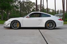3 years ago this month, our friend James took delivery of the Project GT3RS 4.0, #422 of only 600 total, and promptly bolted on a set of Forgeline one piece forged monoblock GA1R wheels in Titanium. He has since converted these hubs to a 5-lug, but these photos show the original factory center lock configuration. See more at: http://www.forgeline.com/customer_gallery_view.php?cvk=572  #TBT #Forgeline #forged #monoblock #GA1R #centerlock #notjustanotherprettywheel #madeinUSA #Porsche #GT3RS