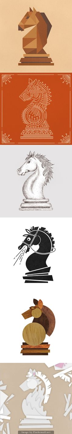 Chess illustrations by Anna Ropalo