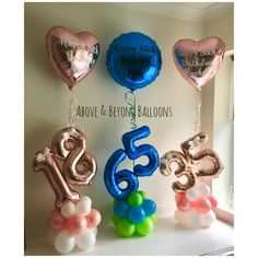 Mini Balloons, Number Balloons, Baby Shower Balloons, Balloon Arrangements, Balloon Centerpieces, Birthday Balloon Decorations, Birthday Balloons, Balloon Stands, Balloon Gift