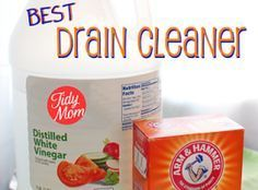 baking soda & white vinegar to unstop drain. pour 3/4 to 1 cup of baking soda in the drain. ( real saver use the baking soda that has sat in your Frigidaire deodorizing it , down) Next pour 1/2 cup white vinegar in the drain, but quickly stop up the sink with the plug or a plate over the drain. Wait 30 mins. then run hot water for 2 or 3 mins. down the drain. Do on a regular basis of about once a month to keep drains fresh and clear without any problems.