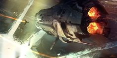 concept ships: Halo 4 concept ships and environments by sparth