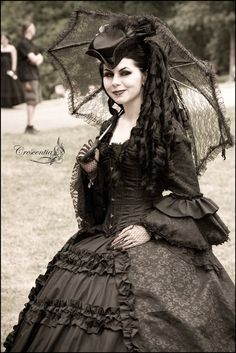 Victorian goth | Gothic & Macabre on We Heart It. http://weheartit.com/entry/79080269/via/bex_walker_90