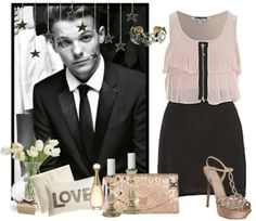 """""""Red carpet with Lou ♥"""" by kasiurek12345 ❤ liked on Polyvore"""