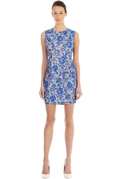george womens dresses neon floral lace dress default