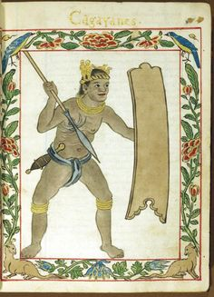 Ancient Filipino from the warrior class.