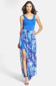 FELICITY & COCO Print Chiffon Overlay Maxi Dress (Nordstrom Exclusive) (Regular & Petite) | Hukkster