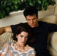 Donna Hayward and James Hurley