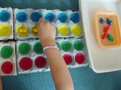 plouf: jeu ac boites d'oeufs pour maitriser le deplacement