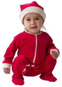 Organic Velour Footie | Castleware: Organic Fabric Baby Clothes and Blankets