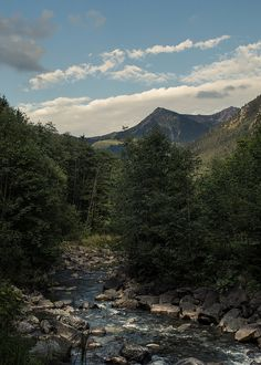 The Breitach creek Mountain Landscape, Lakes, Waterfall, Mountains, Nature, Travel, Voyage, Waterfalls, Viajes